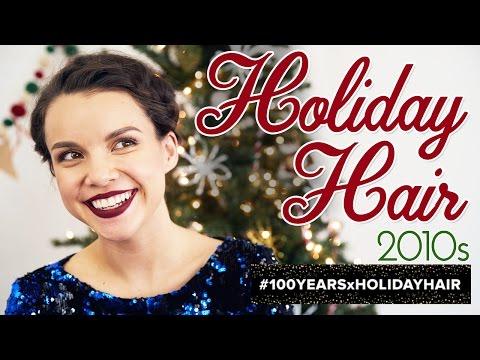 Holiday Halo Braid for Short Hair ◈ Ingrid Nilsen thumbnail