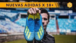 Botas adidas X18+ || MÁS VELOZ QUE NUNCA