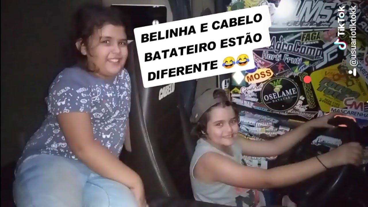 CABELO BATATEIRO E BELINHA QUANDO ERAM CRIANÇAS 😂 + CARREGAMENTO POR OSELAME BATATAS