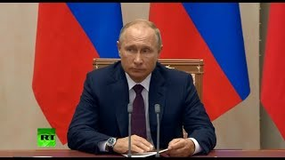 Putin comments Crimea attack during presser with Egyptian leader in Sochi (recorded live)