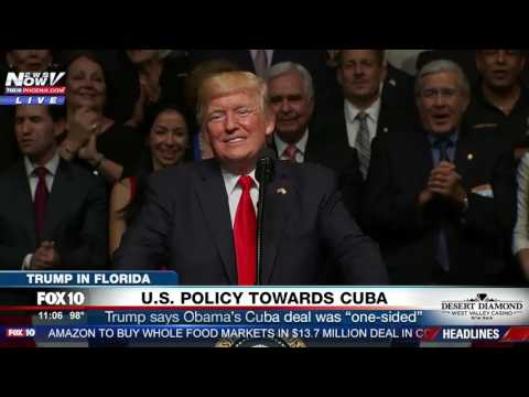 """WOW: Crowd Starts Singing """"Happy Birthday"""" to President Trump During His Cuba Speech"""