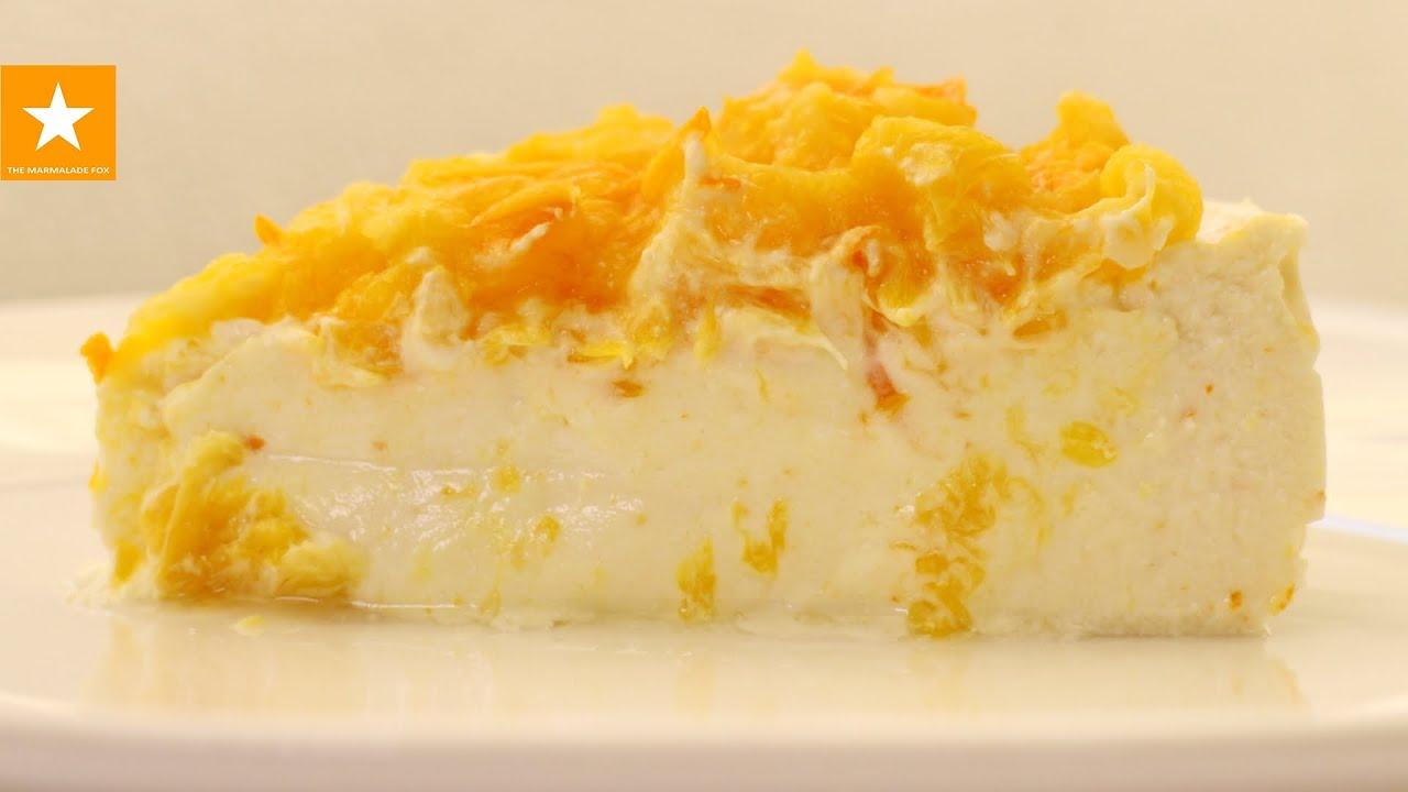 рецепт творожной запеканки с апельсином