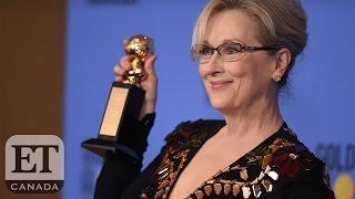 Meryl Vs. Trump At The 2017 Golden Globes