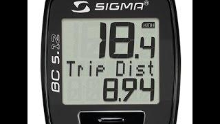 Обзор и НАСТРОЙКА Велокомпьютера Sigma Sport BC 5.12