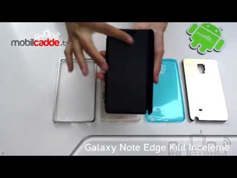 Samsung Galaxy Note Edge Kılıf İncelemesi