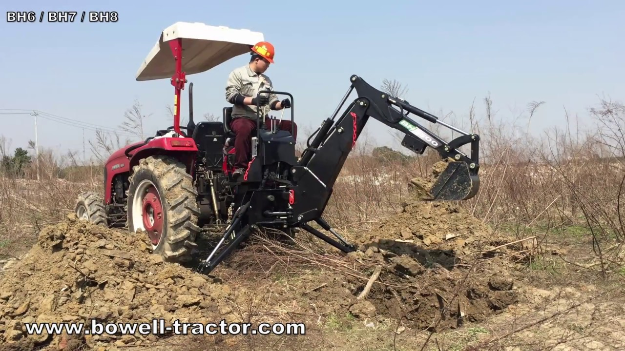 Bowell BH | Backhoe For Tractors