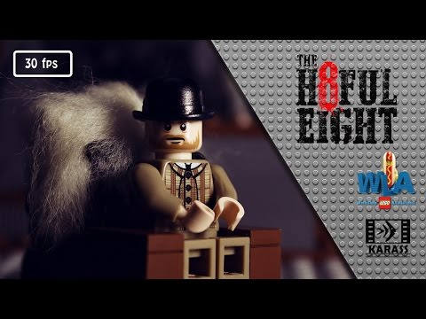 The Lego Western  THE HATEFUL EIGHT - New Lego Teaser Trailer