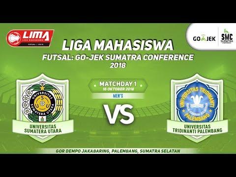 USU VS UTP LIMA Futsal : GOJEK SUMATRA CONFERENCE 2018