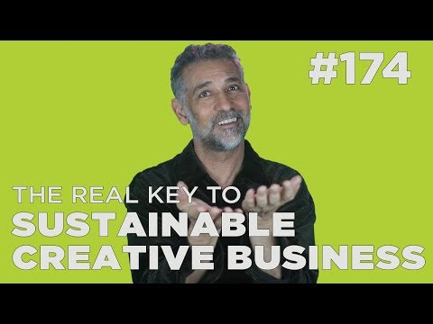 The real key to sustainable creative business #HTipT #174