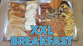 "Full Irish Breakfast Challenge Newton Cafe's Xxl ""goliath"" Ulster Fry-up!!"