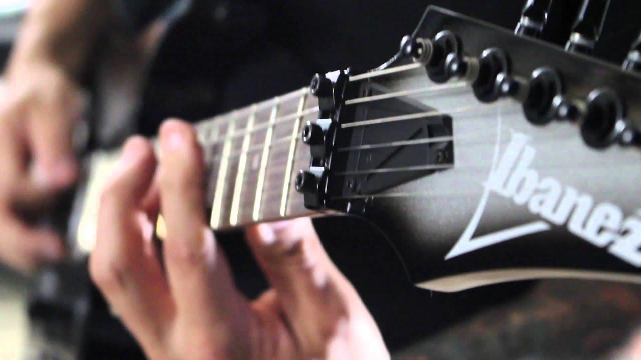 greg marra ibanez guitars rg gio series demo youtube