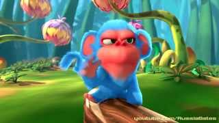 Мультфильм про обезьянок - Funny monkey cartoon