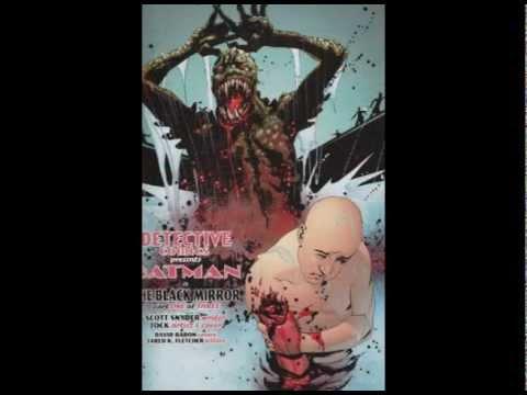 BATMAN The Black Mirror Graphic Novel DC Comics 2011