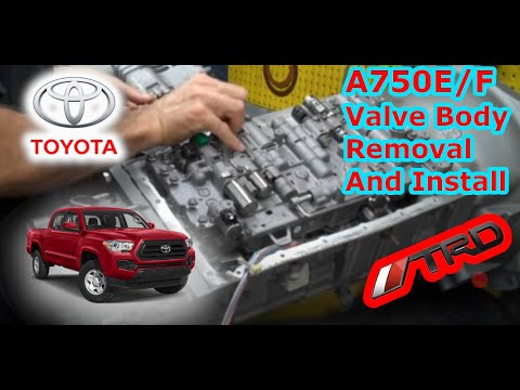 IPT Performance Transmissions A750EF Valve Body Installation  YouTube