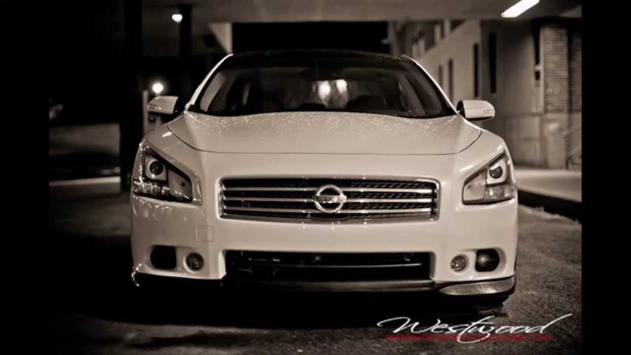 2011 Nissan Maxima Stillen Front Lip Youtube