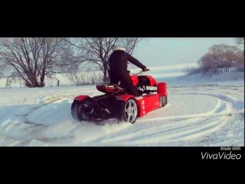 Квадроцикл самоделка смотреть видео прикол 1 26