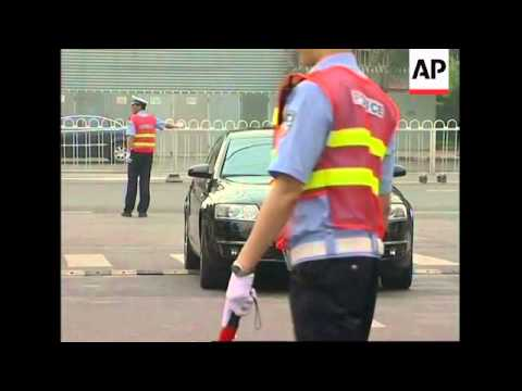Half of all government cars taken off Beijing roads for Olympics