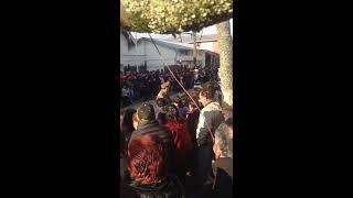 Presentacion Banda Piloto Pardo de Quenuir en desfile Maullin
