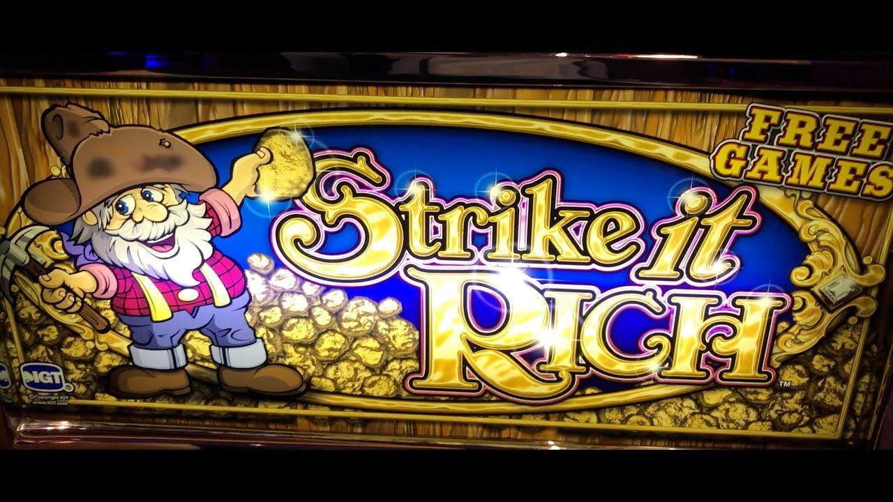 Strike It Rich Slot Game