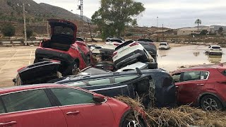 Spain counts the cost of deadly floods in Alicante and Murcia