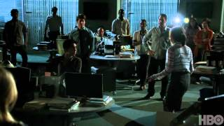 The Newsroom Season 1: Episode 9 Clip - Becoming a Team Again