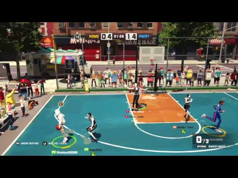 3on3 Freestyle. Love the game but I'm over playing it.