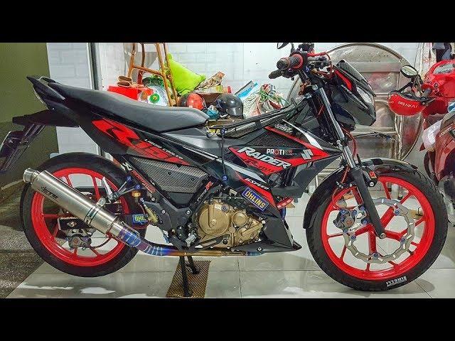 Xe & Phong Cách 24h - Suzuki Raider 150 Fi ?? ??p v?i n?a góc nhìn c?a biker Vi?t.