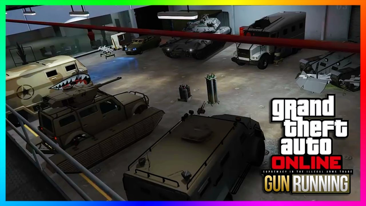 New Cars Gta  Gunrunning