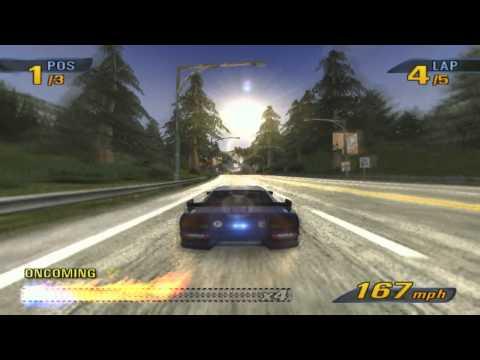 Burnout 3 Takedown Full HD gameplay on PCSX2