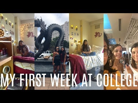 MY FIRST WEEK AT COLLEGE//DREXEL UNIVERSITY | stayypozitive