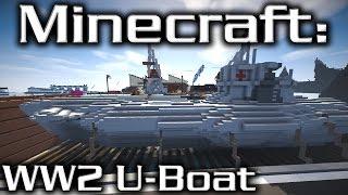 DakrCraft: WW2 U-Boat Docks (by McStride)