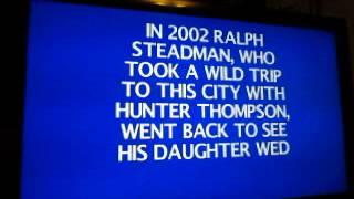 Jeopardy! Nintendo Wii U Run: Game 7