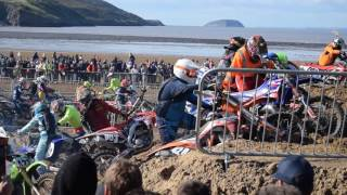 Weston Beach Race 2016 : First Dune Mayhem : 600+ Bikes
