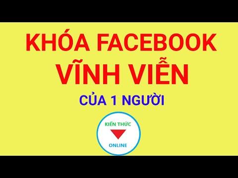 cách hack tài khoản facebook của người khác - Cách khóa tài khoản Facebook của 1 người
