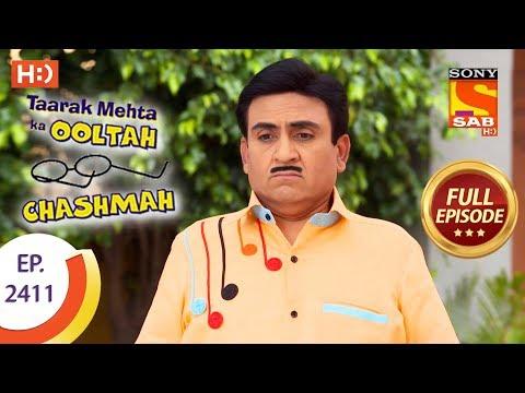 Taarak Mehta Ka Ooltah Chashmah – Ep 2411 – Full Episode – 26th February, 2018
