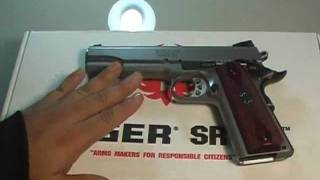 RUGER SR1911 REVIEW THAI AUDIO ONLY!