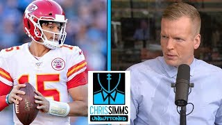 NFL Divisional Round: Best QB matchup, Titans vs. Ravens | Chris Simms Unbuttoned | NBC Sports