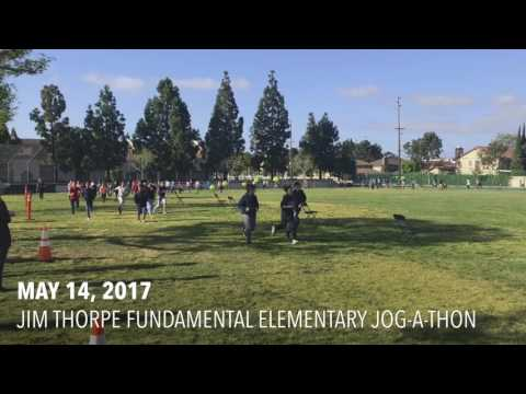 We Are Toyama: Jim Thorpe Fundamental Elementary Jog-A-Thon (May 14, 2017)