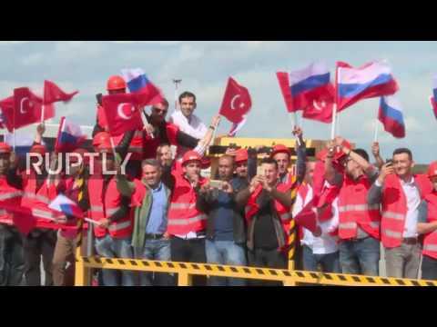 Russia: Erdogan arrives in St. Petersburg for Putin talks