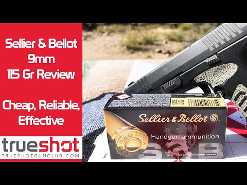 Sellier & Bellot 9mm Ammo Review - YouTube