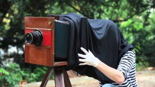 Making Ambrotypes - Wet Plate Collodion