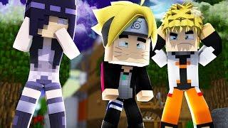 Minecraft: BORUTO - HINATA CHOROU POR CAUSA DO BORUTO #10