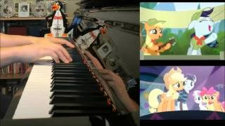 MLP FiM - Equestria, the Land I Love (Piano Cover by Amosdoll)