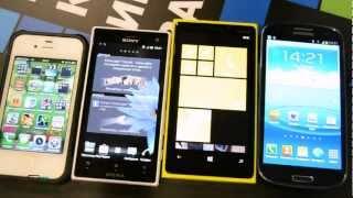 Предварительный обзор Nokia Lumia 920 и Lumia 820 (preview)
