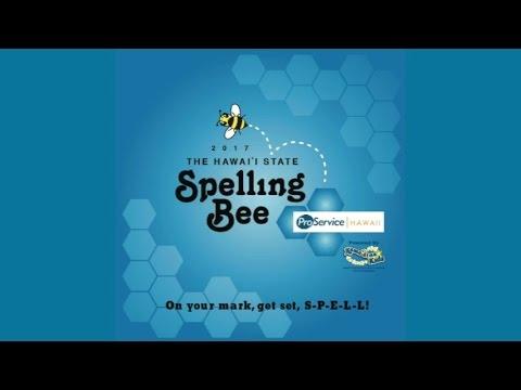 Hawaii State Spelling Bee 2017
