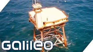 The Frying Pan Tower: Das gefährlichste Hotel der Welt | Galileo | ProSieben