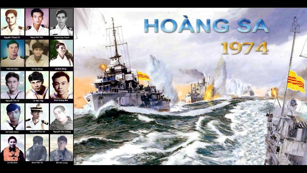 Image result for trận hải chiến Hòang Sa, VNCH và Trung CỘng