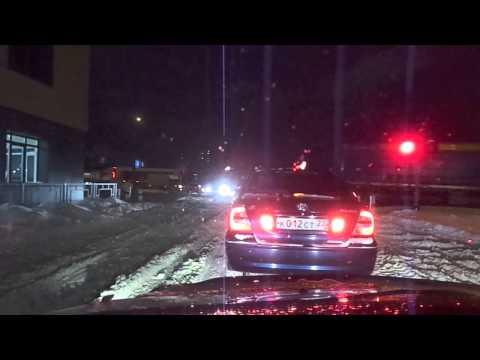 ЖД переезд  Проезд на запрещающий сигнал светофора