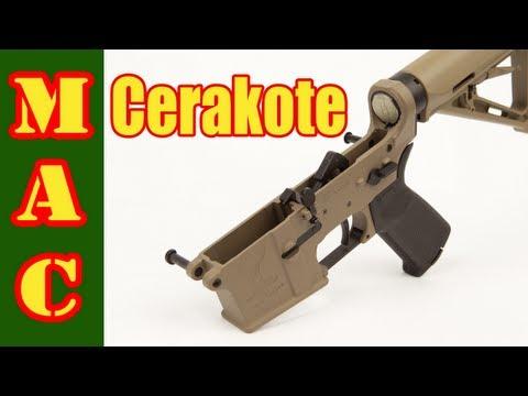 Cerakote Firearms Finish