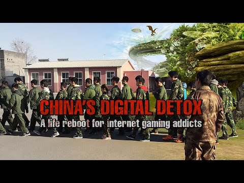 China's Digital Detox. A Life Reboot for Internet Gaming Addicts (Trailer)